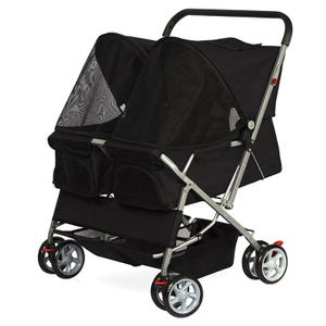 Pet Sport Stroller Dog Double Stroller