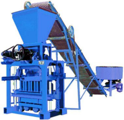daswell produces block making machine and Jzr series diesel concrete mixer_daswellblock making machine jzr 500 concrete block mixer machine /concrete mixer automatic block making machine qt4.