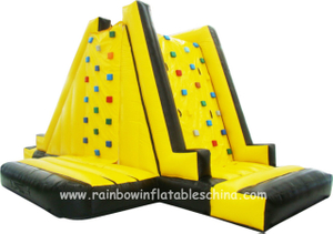 RB13024 (9x3x4m) Inflatable Climbing Mountain/ Inflatable Double Climbing Wall Game