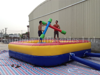 Popular Outdoor Inflatable Interactive Game Jousting Stick Game for Sale