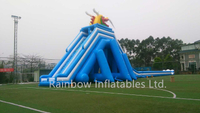 RB7060(52x13x13m) Inflatable Giant Water Slide with Stairs and Water Pool New Design