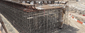 New expansion joint covers project-Abu Dhabi-Dubai highway
