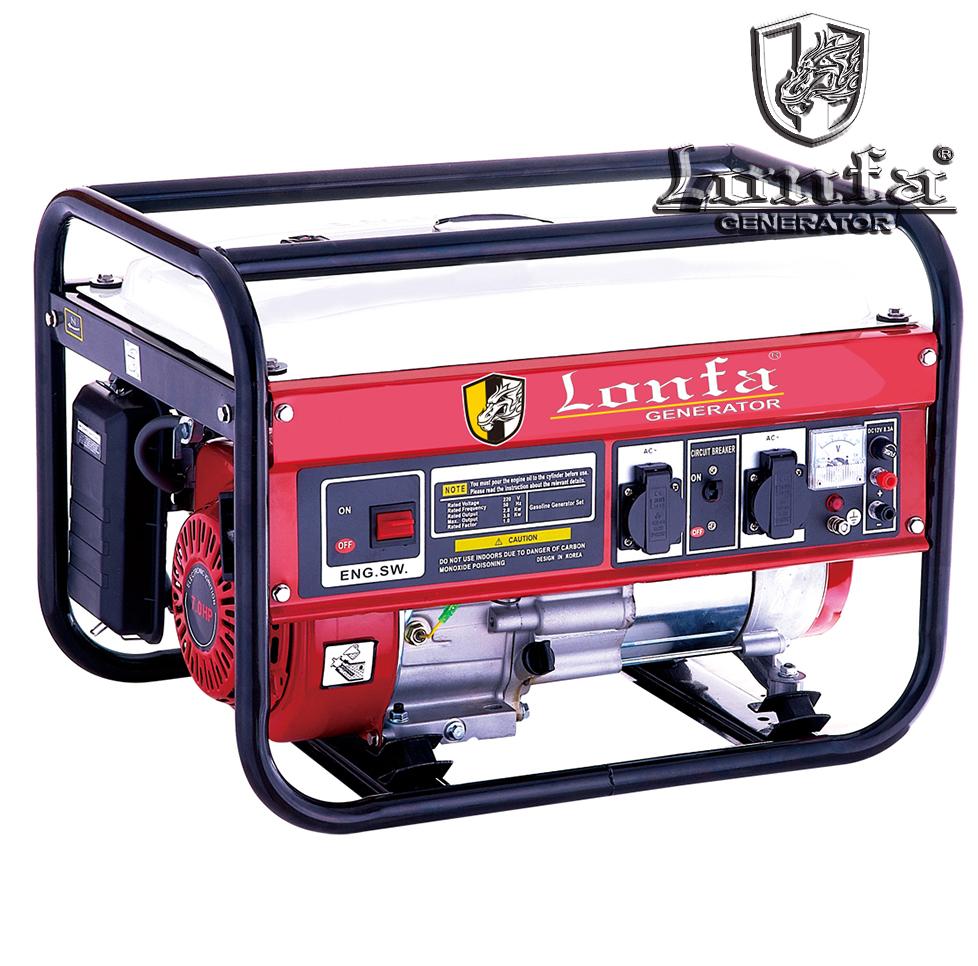 Single Phase Generator : Single phase petrol generator kw kva lf f buy