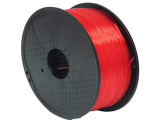 1.75mm/3.0mm 1kg Spool Fluorescent Red Color PLA 3D Printer Filament