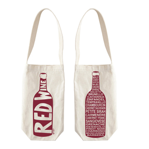 Personalized wine bottle gift bags