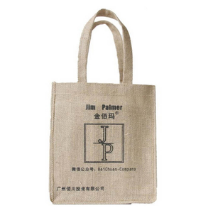 Printed Shopping Natural Jute Bag