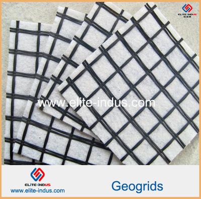Fiberglass?Geogrid Composite Geotextile