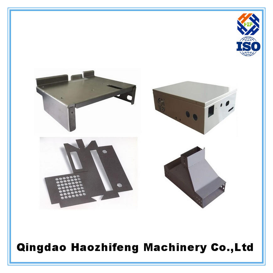galvanized steel sheet metal stamping parts with tapped holes