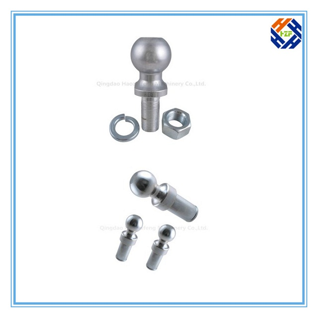 CNC Machining Part for Trailer Ball by Forging-1