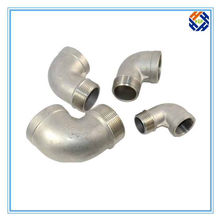 2 Ss304 Stainless Steel Elbow Pipe Fitting-3