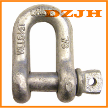 Screw pin chain shackles