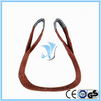 6000kg Polyester Webbing Slings Eye-Eye Type to EN1491-1