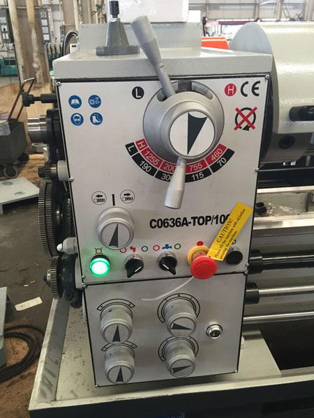 C0636A-TOP Economic Small Metal Bench Lathe Machine - Buy bench
