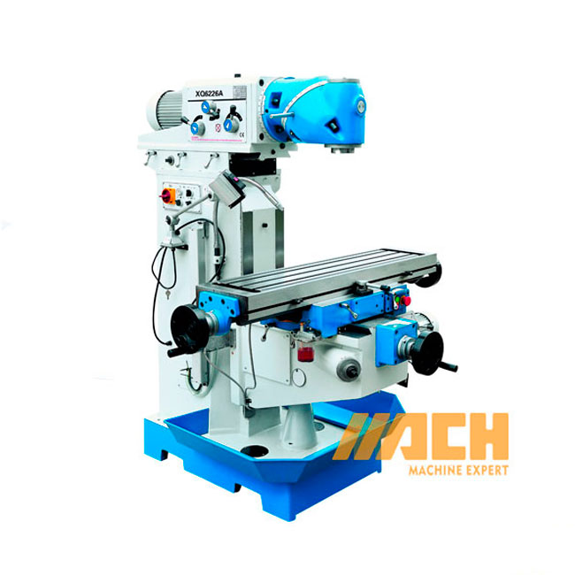 XQ6226 China Precision Vertical Universal Swivel Head Mill Machine