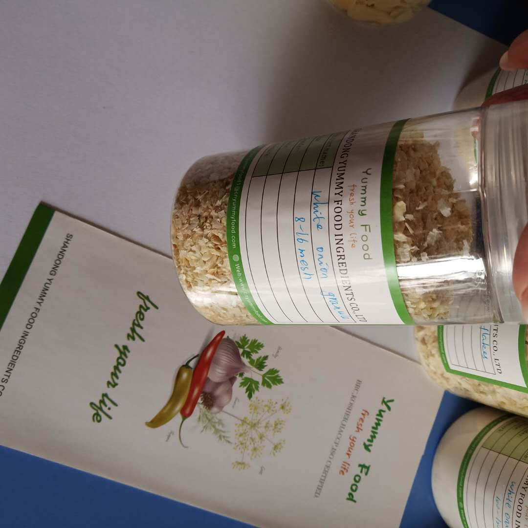 Discount wholesales China 2020crop Dry Spicy Seasoning White Onion granules