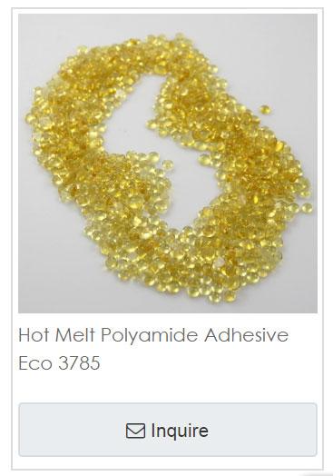 Hot melt adhesives Eco 3785 20180918