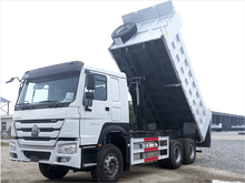 HOWO 6X4 Dump Truck Middle Tipping