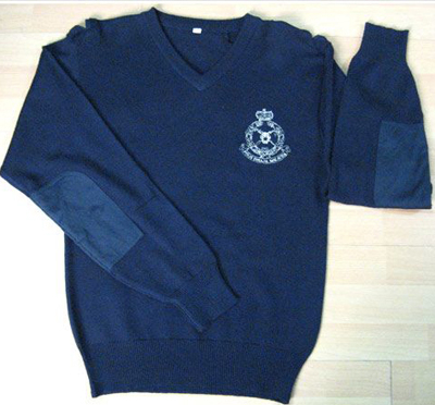 High Quality Wool Blended Army and Police Sweater