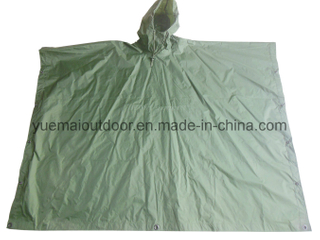 High Qualtiy Military Waterproof Poncho in Nylon PU