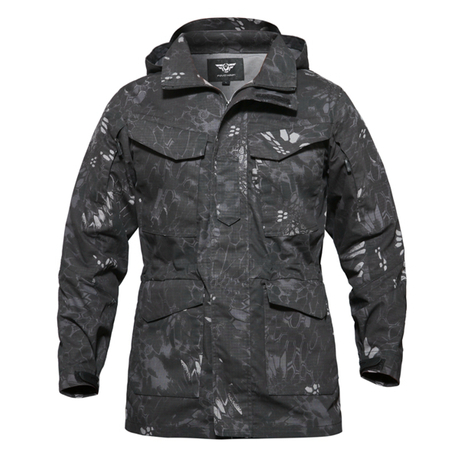 Tactical Winter Parka with High Quality Waterproof and Breathable