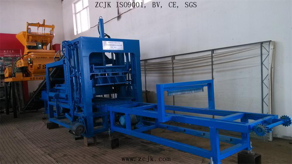 Машина делать кирпича ZCJK QTY6-15