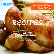 HOLSEM Air Fryer Recipes Book