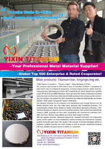 YIXIN TITANIUM----your professional metal material supplier