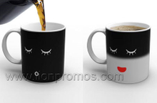 Promotional Heat Sensitive Color Change Magic Ceramic Mug