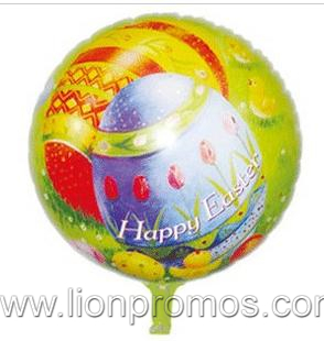 New Year Easter Halloween Decration Gift Flag Foil Balloon