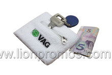 Basketball Sports Accessory Cotton Sweat Band with Money Pocket