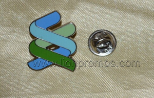 Standard Chartered Bank Logo Shape Promotional Gift Suit Metal Lapel Pin