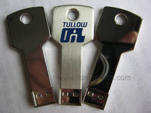 Tullow Oil Logo Gift Key Shape USB Flash Drive