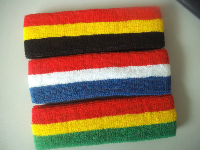 National Flag Festival Party Sports Gift Cotton Head Sweat Band