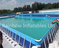 RB32016(dia 10m) Inflatable Giant Water Park Pool for sale