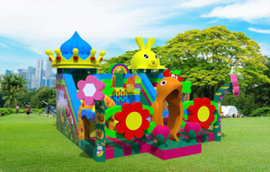 Beautiful Garden Park Flower Inflatable Playground Kids Inflatable Toy