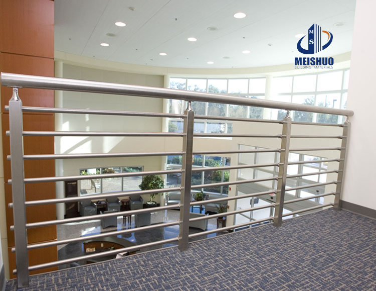 Polish Finish cable stainless steel handrail