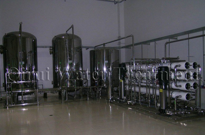 Large Capacity of Two Stage RO Water Treatment System