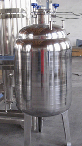 WFI Stainless Steel Distilled Water Storage Tank