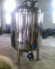 Stainless Steel Distilled Water Storage Tank