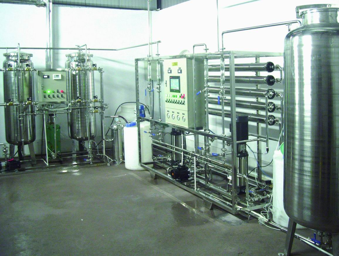 Two Stage RO Water Treatment Equipment