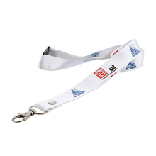 Custom id holders lanyards with polyester material and print logo for promotion