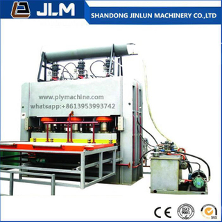 The Automatic Melamine Hot Press Machine for The Plywood and MDF Board.