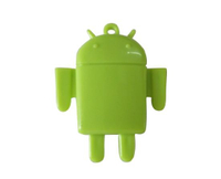 TF Card Reader Like Android Robot