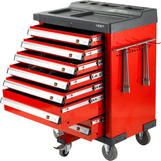 267PCS Porsche Tool Trolley Set 6680