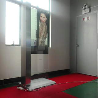 49inch Ultra thin transparent advertising machine