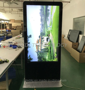 "Dedi 65"" WiFi Interactive Touch Screen Free Standing Digital Signage Kiosks"