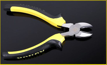 Good Quality Cr-V Yellow Handle Diagonal Cutting Pliers