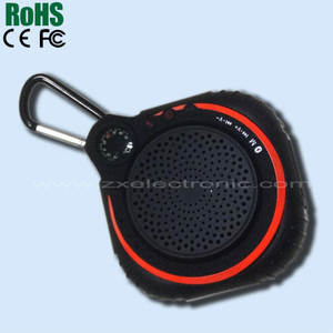 Keychain Portable Wireless Bluebluetooth Speaker for Phone