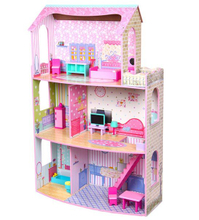 Children Wooden Doll House