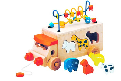 2014 Baby Car Toys, Wooden Car for Kids, Children Wooden Cars
